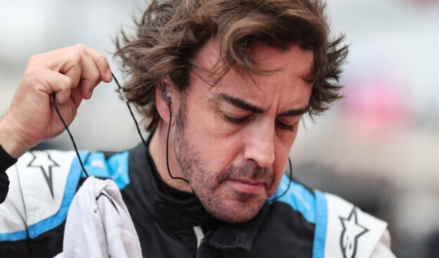 Alonso felt sad to battle Russell for the last point