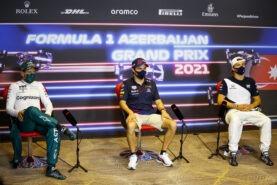 Post-Race Press Conference 2021 Azerbaijan F1 GP