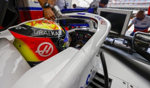 Mick Schumacher's special Silverstone Helmet