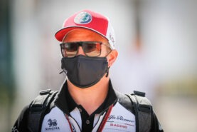 Raikkonen doesn't feel old although he raced against fathers of current rivals