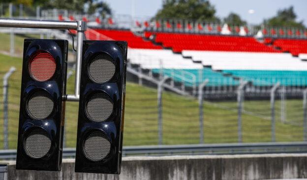 F1 Starting Grid 2021 Hungarian Grand Prix Race at Hungaroring