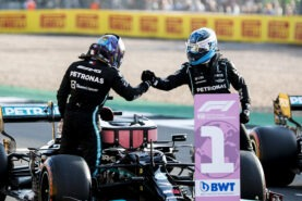 Mercedes admits Bottas now to support Hamilton for this season's title