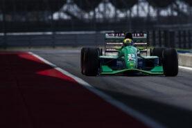 Behind the Scenes: Mick Schumacher driving the Jordan 191