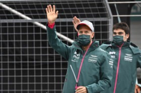 Father says Stroll 'on par' with Vettel this season