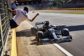 Mercedes team 2021 British GP F1 Race Debrief