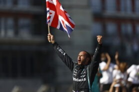 Former F1 driver says 'Moral knight' Hamilton is hypocritical