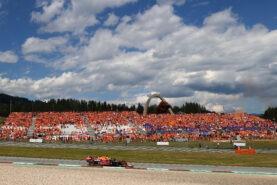 Ecclestone hails return of fan crowd to Austrian F1 GP