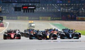 F1 Starting Grid 2021 British Grand Prix