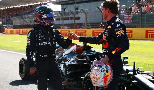 Controversy explodes after first real Hamilton-Verstappen clash