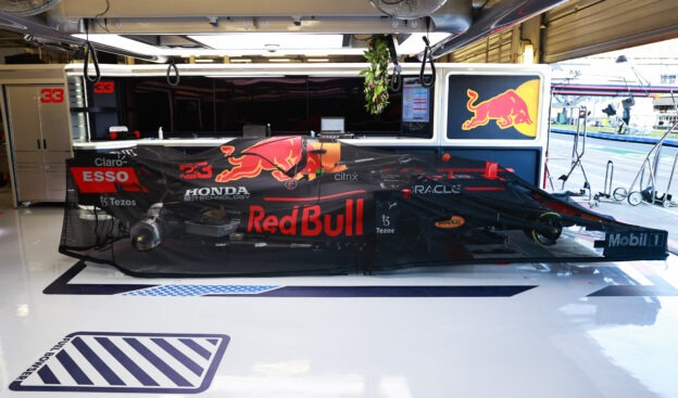 Red Bull team looking into challenging Hamilton's minor penalty