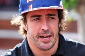 Alonso backs Verstappen over 'burnout' ban