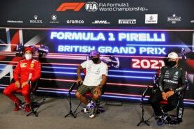 Post-Race Press Conference 2021 British F1 GP