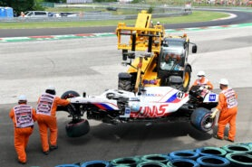 Haas team boss fed up with number of crashes by Schumacher