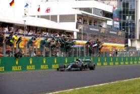 Schumacher slams disqualification appeal by Aston Martin team