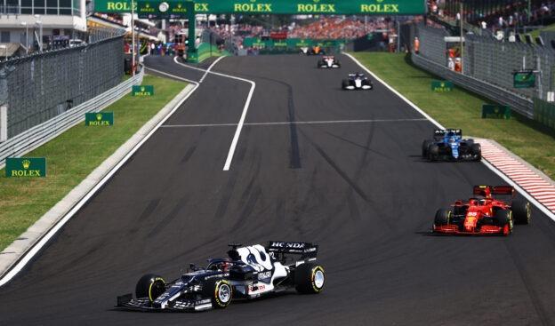 2021 Hungarian Grand Prix Timelapse Recap video