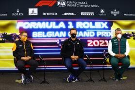2021 Belgian F1 GP Constructors Press Conference