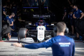 Williams team boss says he has more than two options to replace Russell