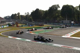 F1 Starting Grid 2021 Italian Grand Prix