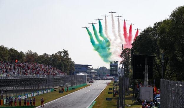2021 Italian Grand Prix Timelapse Recap video