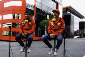 A quick chat with Charles and Carlos about Zandvoort