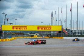 Leclerc's & Sainz' message after the 2021 Russian GP
