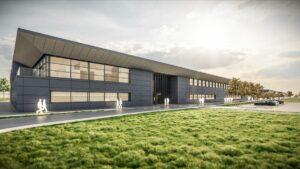New Aston Martin F1 Factory building