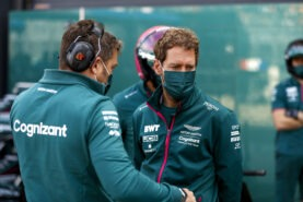 Vettel admits next year's contract not confirmed yet
