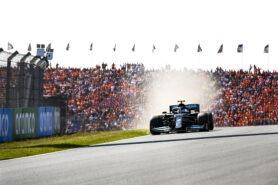 2021 Dutch F1 Race debrief video of Mercedes
