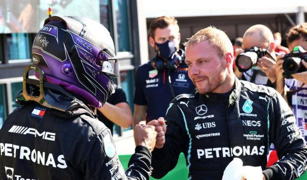 Hamilton says Bottas is his all time favourite teammate
