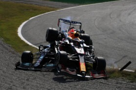 Verstappen receives 3 places grid penalty after Monza collision