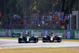 Italian F1 GP steward Liuzzi plays down last Verstappen-Hamilton clash