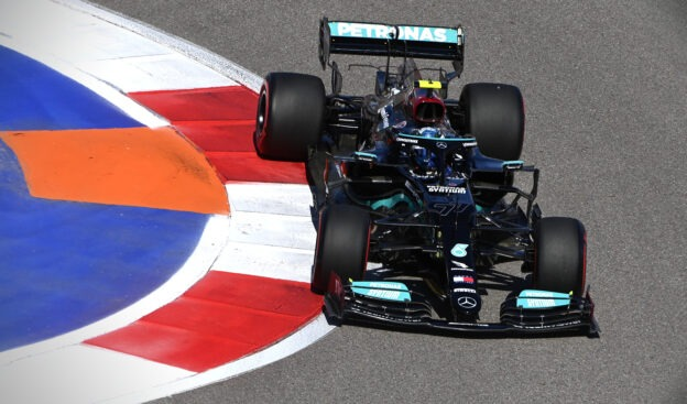 First Free F1 Practice Results 2021 Russian F1 GP (FP1)