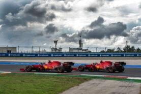 Scuderia Ferrari Turkish F1 GP debrief with Iñaki Rueda's